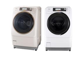 水の使用量を低減するドラム式洗濯乾燥機「ハイブリッドドラムTW-200VF」