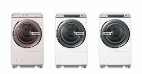 「Wイオン洗い」のドラム式洗濯機(ES-V300)