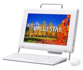 ノート型パソコンよりも設置面積をとらないデスクトップパソコン「VALUESTAR N」シリーズ