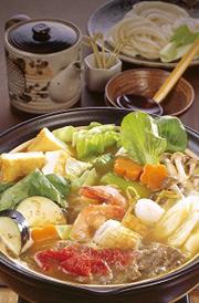 フジッコの鍋つゆを使用したカレー鍋。実においしそう