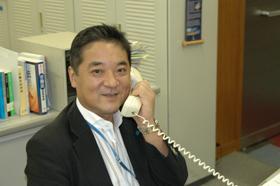 連合企画局長の山根木晴久さん