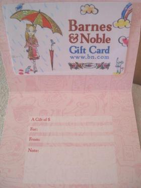 雑誌やCDも買える「Barnes & Noble」ギフトカード