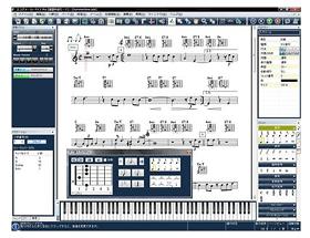 「スコアメーカーFX3」の画面イメージ