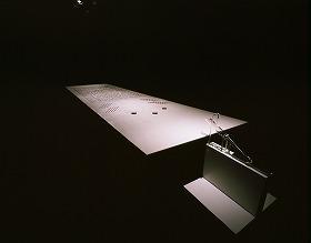 21世紀の鹿威し。「水玉」だけが無言で動いている 〔(C)Mitsumasa Fujitsuka〕