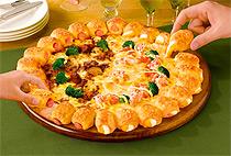 みみまでおいしいは、ピザハットならでは