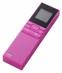 ICレコーダーには珍しい「ピンク」色のモデルも販売する