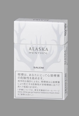 商品名の「アラスカ」は凍りつくような超強メンソール感を表現したという
