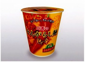 日清のとんがらし麺 熟辛タイ風トムヤムクン
