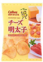カルビー「ポテトチップス チーズ明太子」