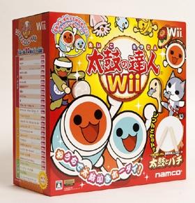 バンダイナムコゲームス「太鼓の達人Wii」