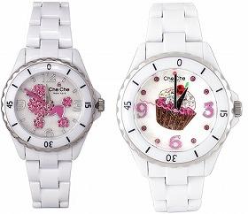 手頃な価格も嬉しい(左右の時計のケースサイズは同じです)