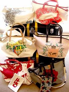 個性的なデザインがずらり。トートバッグのコレクション