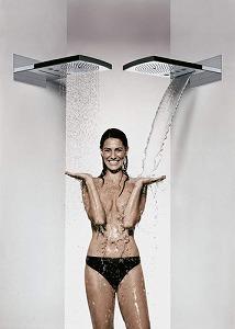 多機能シャワー「レインダンス レインフォール」 ハンスグローエ