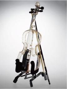 ハリオグラス、ガラス製バイオリン