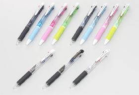 三菱鉛筆「ジェットストリーム 3色ボールペン」(上)「ジェットストリーム 多機能ペン」(下)