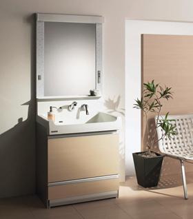クリナップ、ステンレス洗面化粧台「S」