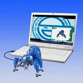 (c)士郎正宗 Production I.G/講談社・攻殻機動隊製作委員会バンダイ「電脳超合金タチコマ」