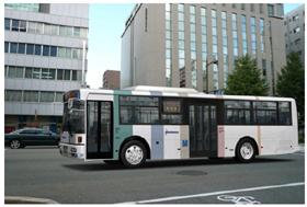 西鉄バスの新デザインのイメージCG