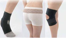 ピジョンが発売した女性の足腰用のサポーター「負担軽減サポーター」