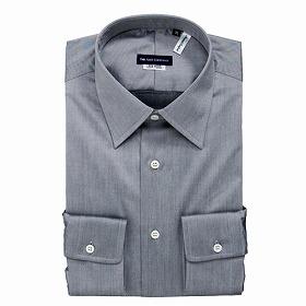 ザ・スーツカンパニー「綿100%形態安定ストレッチドレスシャツ」