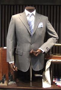 「ポール・スチュアート」のオーダースーツ(イメージ)