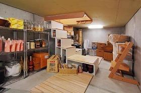 三井ホームが発売する大型地価収納庫