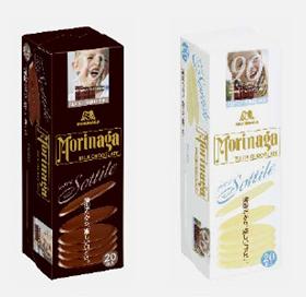 森永製菓 「ミルクチョコレート ソッティーレ」「ホワイトチョコレート ソッティーレ」