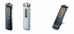 「ICD- SX900」(左2台)と「ICD-SX800」(右)