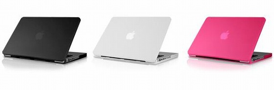 アルミの無機質な「MacBook」がポップに変身