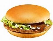 豚肉のジューシーな味わいが特徴の「マックポーク」
