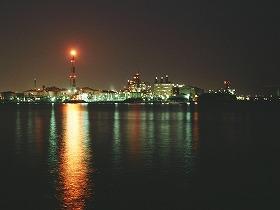 迫力ある夜景