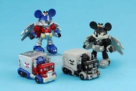 トレーラーがミッキーマウスに変身しちゃう(C)Disney (c)1985 2009 TOMY