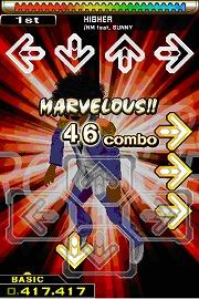 タッチしたり振ったりして楽しもう (C)2009 Konami Digital Entertainment