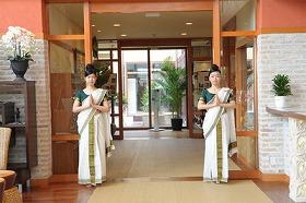 リゾート感満点の「カイラリジャパン」