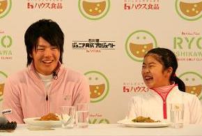 「カレーが大好き」と石川選手