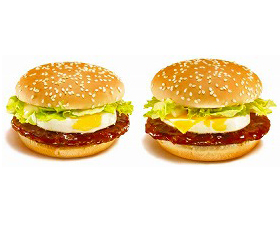 「てりたま」(左)「チーズてりたま」(右)