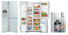 大容量で大皿料理もそのまま冷蔵できる