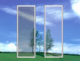 「クリアネット網戸」ならば、眺めがよく心地よい風を取り込める