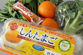 たまごをはじめ、葉酸はさまざまな食物・食品から摂れる