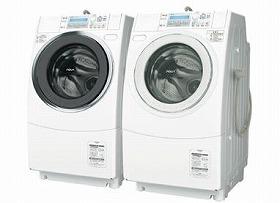 「AQUA」のコンセプトは「水を大切に想う洗濯機」
