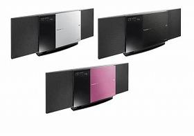 画像はSDカード対応の「SC-HC4」シルバー、ブラック、ピンクの3色展開