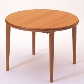 [テーブル ローベルII]W105~155×D105×H70cm ¥161,700<家具蔵>