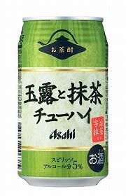 缶入り「アサヒお茶酎」、全国展開へ