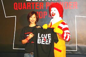 Tシャツに「すごく元気が出る感じ」と井上和香