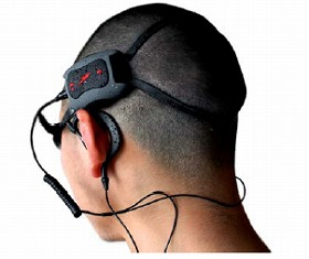 The water-proof mobile audio player Speedo LZR Racer Aquabeat