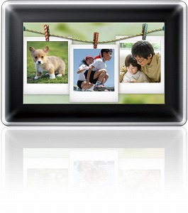 Photo frames that may replace albums