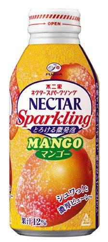 マンゴー果汁12%の炭酸飲料