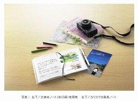 旅行記や記念スタンプ、ご当地情報もこれ1冊で大丈夫!