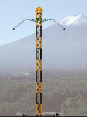 富士の樹海も見渡せる...こ、こわ~