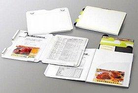 様々な紙類が収納可能の多彩なポケット
